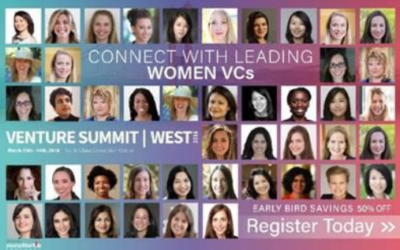 Venture Summit | West 2018 on March 13th & 14th 2018 at the Santa Clara Convention Center, Silicon Valley.